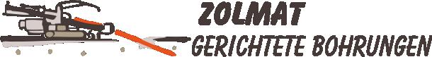 Zolmat - Bohrung, Straßenbohrung, Straßendurchbohrung, gesteuerte Bohrung, Raketenbohrung.