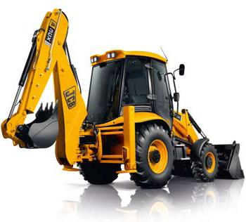 JCB 3CX front-end shovel loader